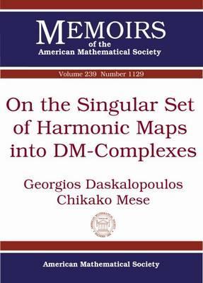 On the Singular Set of Harmonic Maps into Dm-complexes
