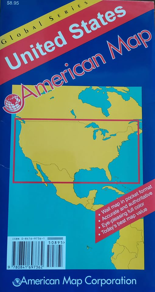 Map-United States of America