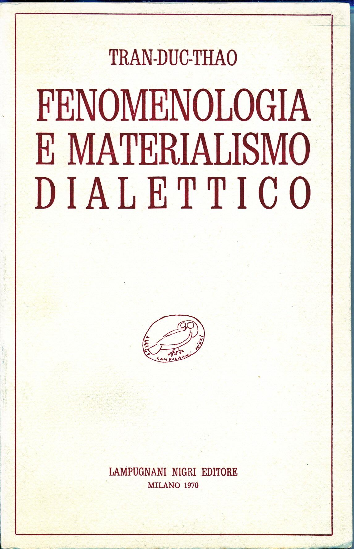 Fenomenologia e mate...