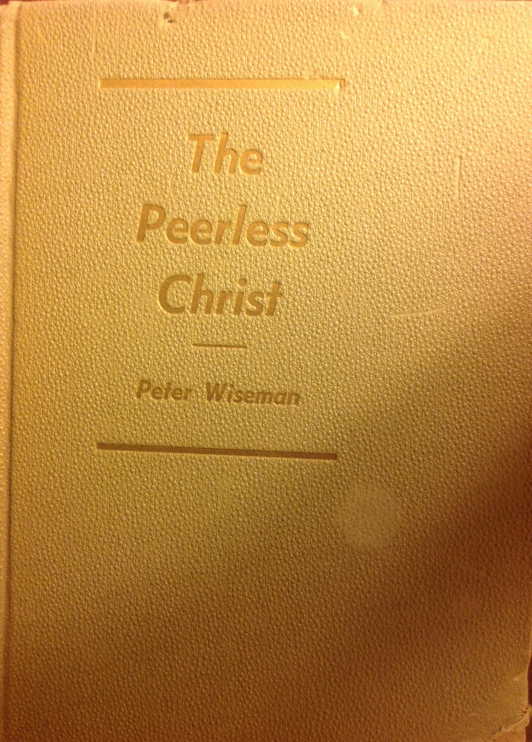 The Peerless Christ