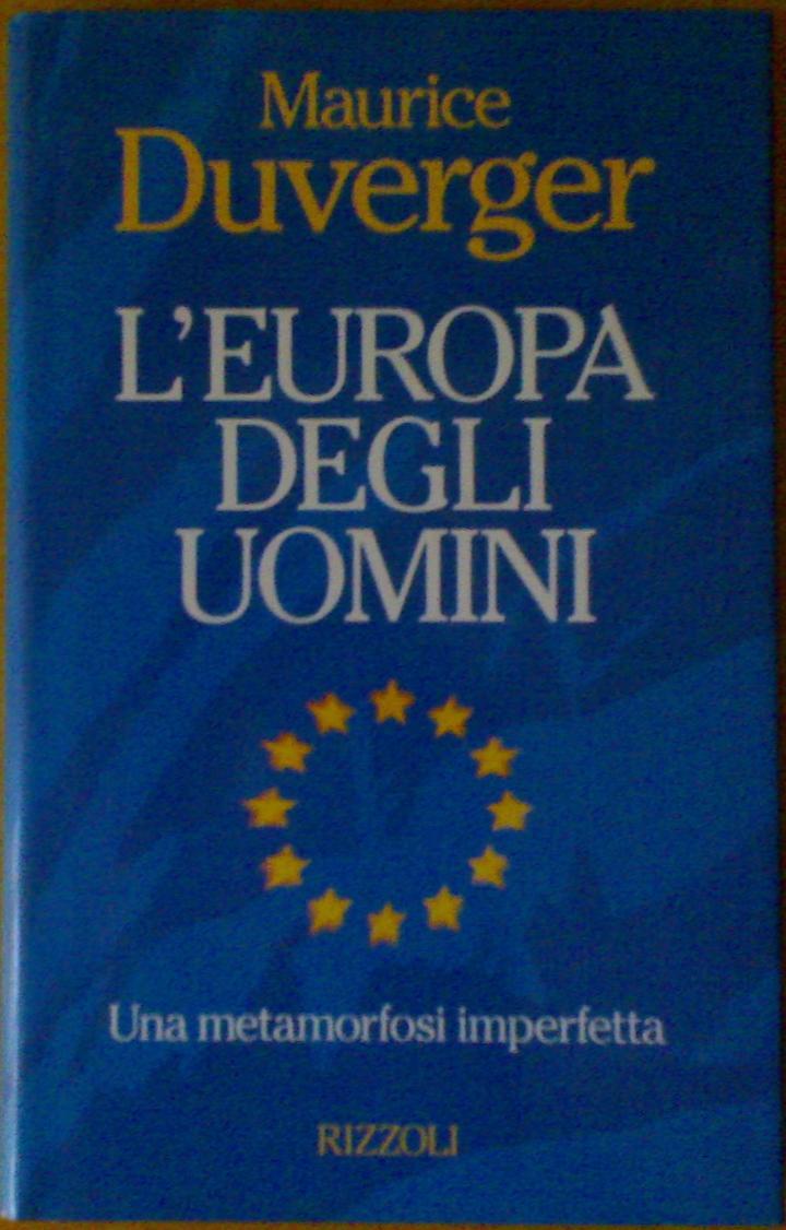 L'Europa degli uomini