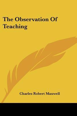 The Observation of Teaching