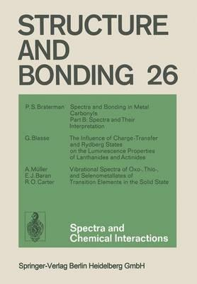 Spectra and Chemical Interactions