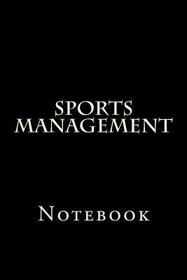 Sports Management Notebook