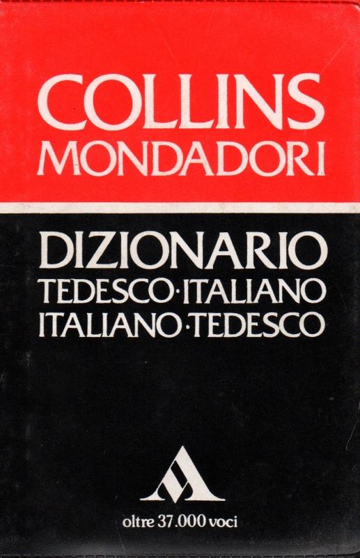 Collins Mondadori Dizionario Tedesco