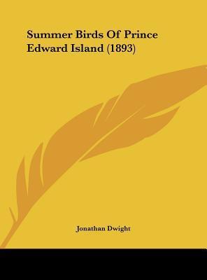 Summer Birds of Prince Edward Island (1893)