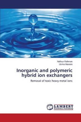 Inorganic and polymeric hybrid ion exchangers
