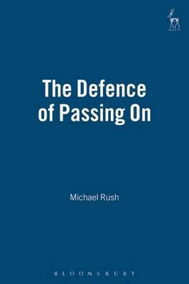 The Defence of Passing On
