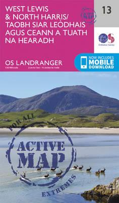 Landranger Active (13) West Lewis & North Harris