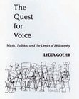 The Quest for Voice