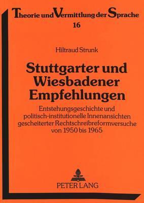 Stuttgarter und Wiesbadener Empfehlungen