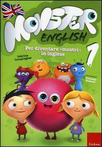 Monster english. Per diventare «mostri» in inglese. Con adesivi