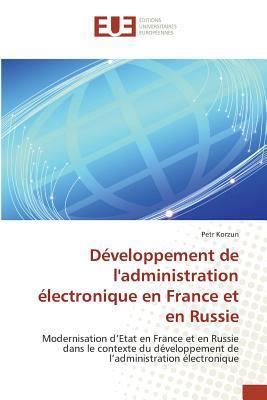 Developpement de Ladministration Électronique en France et en Russie