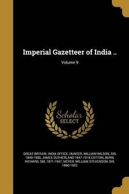 IMPERIAL GAZETTEER OF INDIA V0
