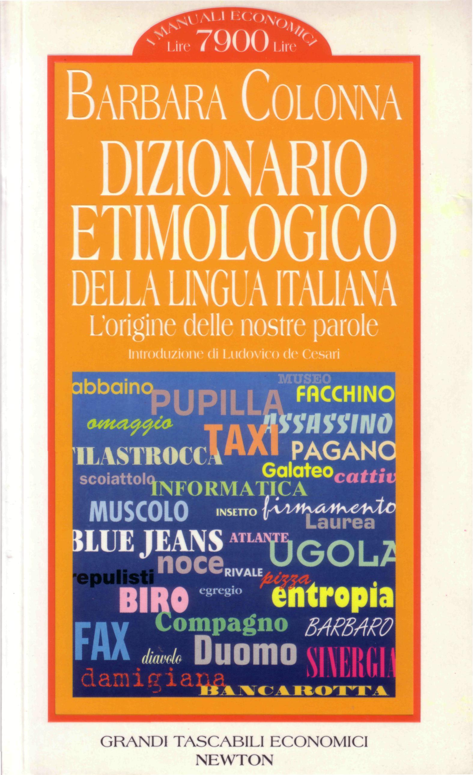 Dizionario etimologico della lingua italiana