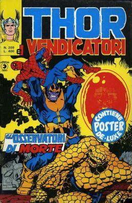 Thor e i Vendicatori (Il Mitico Thor) n. 209