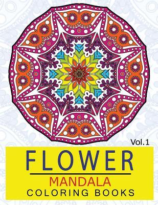 Flower Mandala Coloring Books