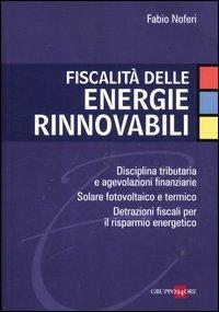 Fiscalità delle energie rinnovabili