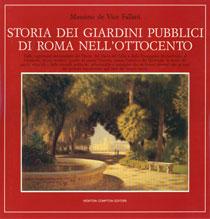 Storia dei giardini pubblici di Roma nell'Ottocento