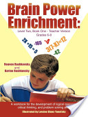 Brain Power Enrichment: Level Two, Book One-teacher Version Grades 6-8