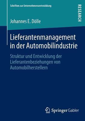 Lieferantenmanagement in Der Automobilindustrie