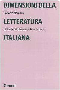Dimensioni della letteratura italiana