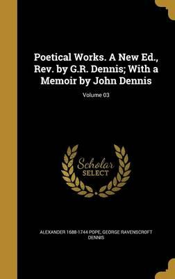POETICAL WORKS A NEW...