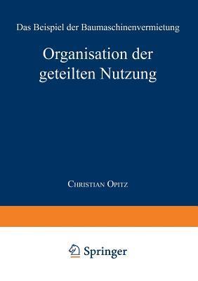 Organisation Der Geteilten Nutzung