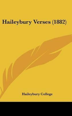 Haileybury Verses (1882)