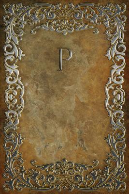 Monogram P Blank Book