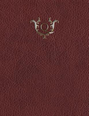 Monogram Q Sketchbook