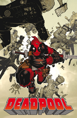 Deadpool n. 32 - Cover Variant Metalizzata
