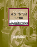 Charleston Architecture, 1670-1860: Illustrations