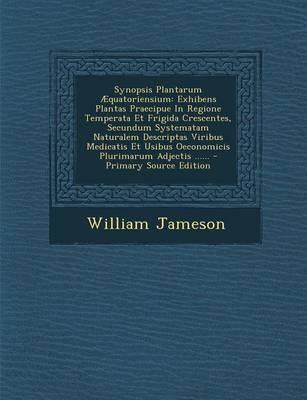 Synopsis Plantarum Aequatoriensium