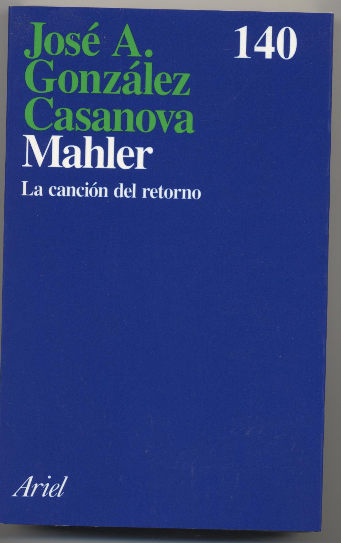 Mahler, la cancion del retorno