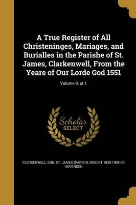 TRUE REGISTER OF ALL CHRISTENI