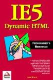 IE5 Dynamic HTML Pro...