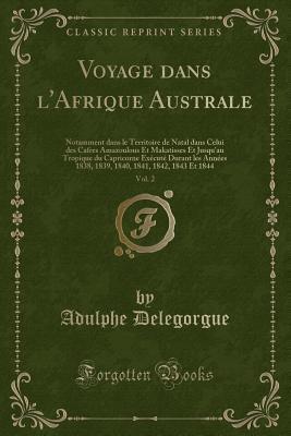 Voyage dans l'Afrique Australe, Vol. 2