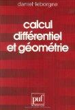 Calcul différentiel et géométrie