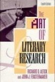 The Art of Literary Research