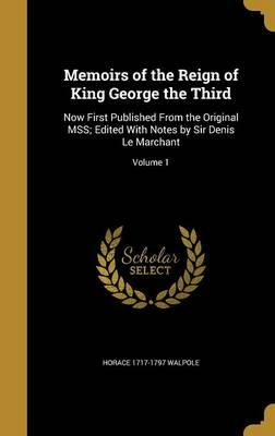 MEMOIRS OF THE REIGN OF KING G
