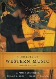 A History of Western Music, Seventh Edition