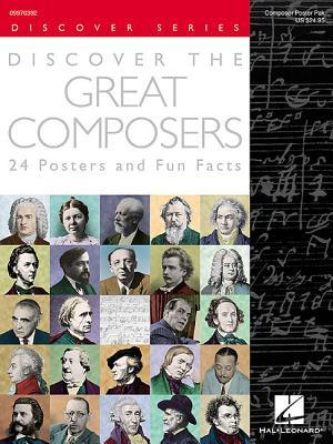 Discover the Great Composers - Set of 24 Posters