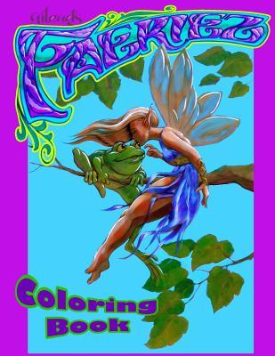 Faeriez Adult Coloring Book
