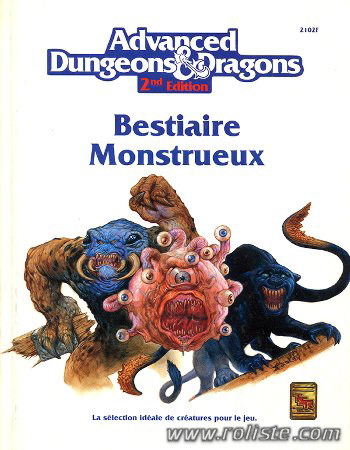 Advanced Dungeons 1 Dragons 2eme édition