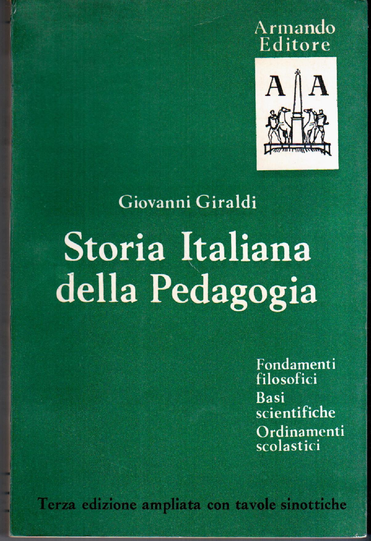 Storia italiana della pedagogia