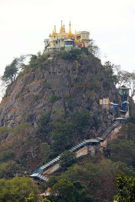 Mount Popa in Myanma...