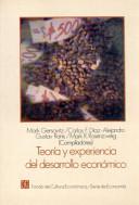 Teoría y experiencia del desarrollo económico