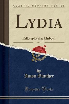 Lydia, Vol. 3
