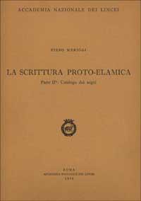 La scrittura proto-elamica / Catalogo dei segni